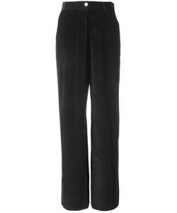Aalto | High-Waisted Wide Leg Trousers Womens Size 38 Spandex/Elastane/Cotton