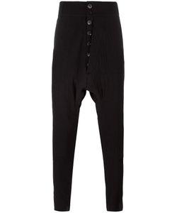 Cedric Jacquemyn   Drop-Crotch Trousers Mens Size 48 Wool/Cotton