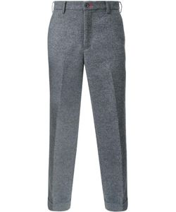 Loveless | Tailored Cropped Trousers Mens Size 3 Cotton/Wool/Polyester/Acrylic