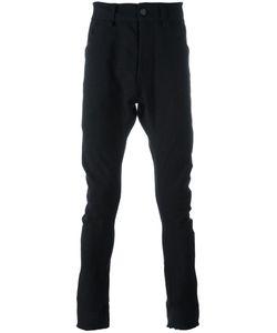 Cedric Jacquemyn   Raw Hem Trousers Mens Size 46 Virgin Wool/Linen/Flax/Polyamide/Cotton