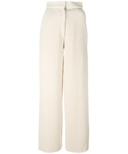 Charlie May | Johanna Trousers Womens Size 10 Cotton/Virgin Wool/Alpaca