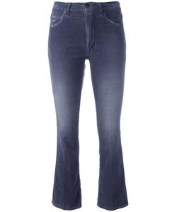 +People | Cropped Flared Jeans Womens Size 27 Cotton/Spandex/Elastane