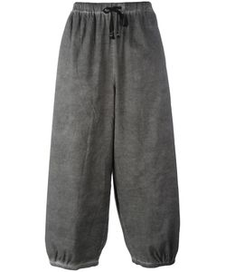 Unconditional | Loose-Fit Drawstring Trousers Mens Size Medium Cotton