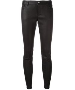 Desa | 1972 Skinny Cropped Trousers Womens Size 36 Calf Leather