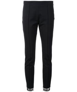 Sharon Wauchob | Lace Detail Skinny Trousers Womens Size 38 Viscose/Spandex/Elastane