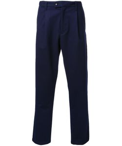 Taakk | Pleated Detailing Cropped Trousers Mens Size 2 Wool