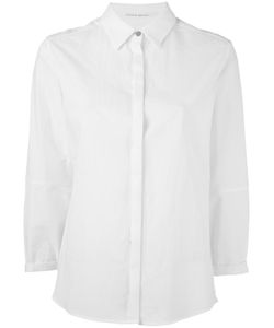 Individual Sentiments   Concealed Fastening Shirt Womens Size 1 Cotton