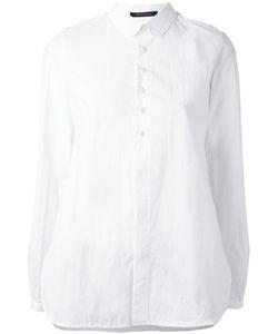 Y's   Epaulet Shirt Womens Size 2 Cotton