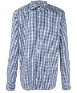 Mp Massimo Piombo | Big Check Patterned Shirt Mens Size 41