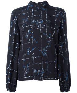 Stine Goya | Lea Blouse Womens Size Medium Silk/Spandex/Elastane