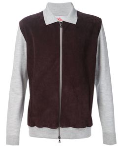 Orley | Paneled Zip Fastening Sweatshirt