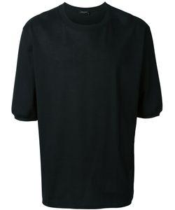 Kris Van Assche | Textured Half Sleeve Pique T-Shirt