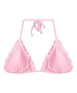 Skinbiquini | Ruffled Trim Triangle Bikini Top