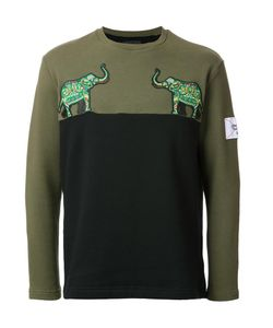 Yoshio Kubo | Elephant Patch Sweatshirt Mens Size 3 Cotton