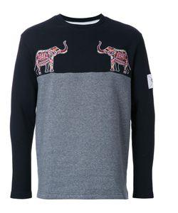 Yoshio Kubo | Elephant Patch Sweatshirt Mens Size 2 Cotton