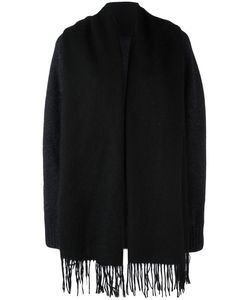 Bless | Fringed Cardigan Womens Size Small Wool/Virgin Wool