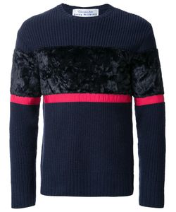 Education From Youngmachines | Colour Block Jumper Mens Size 1 Lambs