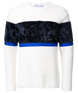 Education From Youngmachines | Colour Block Jumper Mens Size 2 Lambs