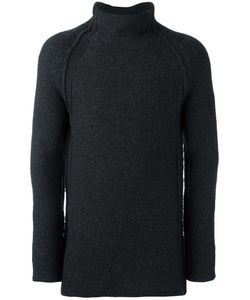 Forme D'expression | Chunky Roll Neck Jumper Mens Size Medium Cashmere/Virgin