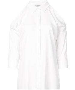 Kaufmanfranco | Cut-Off Shoulders Shirt Womens Size Small Cotton