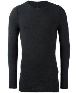Forme D'expression | Textured Crew Neck Jumper Mens Size Medium Virgin