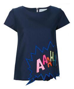 Mira Mikati | Embroidered T-Shirt Womens Size 36 Cotton