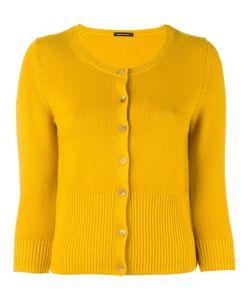 Samantha Sung | Nathalie Ribbed Hem Cardigan Womens Size 4 Cashmere