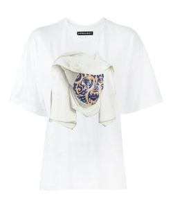Y / Project   Printed T-Shirt Womens Size Small Cotton