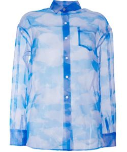 Taro Horiuchi | Loose Fit Cloud Shirt Womens Polyester