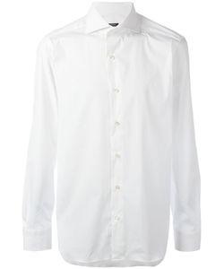 Barba | Classic Shirt Mens Size 40 Spandex/Elastane/Cotton/Polyamide