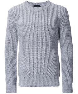 Loveless | Crew Neck Jumper Mens Size 3 Polyester/Acrylic/Wool/Linen/Flax