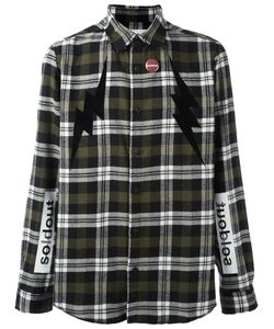 Sold Out Frvr | Checked Shirt Mens Size Large Cotton/Acrylic/Polyester/Polyamide