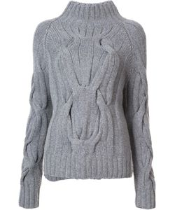 Sally Lapointe | Cable Knit Jumper Womens Size Xs/S Merino/Cashmere