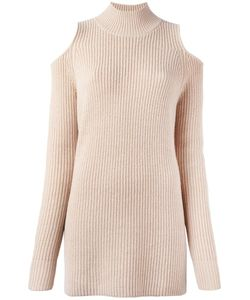 Zoe Jordan | Cold Shoulder Jumper Womens Size Small Wool/Cashmere