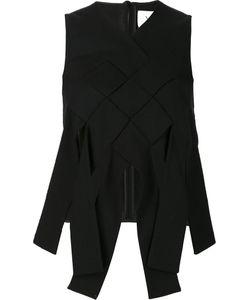 Novis | Woven Top Womens Size 4 Silk/Wool