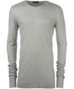 Unconditional | Back Seam Jumper Mens Size Xl Rayon/Silk/Cashmere