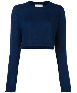 Le Kasha | Hawai Cropped Jumper Womens Size Medium Cashmere