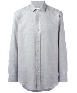 Salvatore Piccolo | Micro Print Shirt Mens Size 40 Cotton