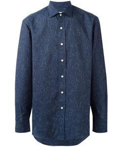 Salvatore Piccolo | Printed Shirt Mens Size 39 Cotton