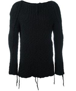 Cedric Jacquemyn   Hand-Knitted Jumper Mens Size 50 Virgin Wool