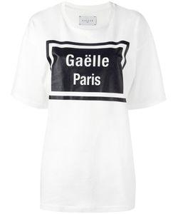 Gaelle Bonheur   Gaelle Paris Print T-Shirt Womens Size 1 Cotton