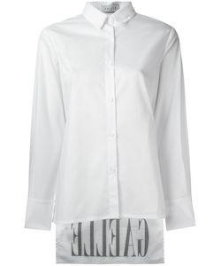 Gaelle Bonheur   High Low Hem Shirt Womens Size 42 Cotton