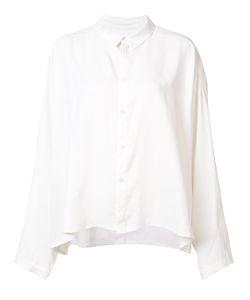 Toogood | Draughtsman Draped Shirt Womens Size 2 Silk