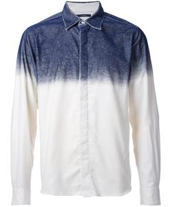 Taakk | Concealed Fastening Dégradé Shirt Mens Size 3 Cotton