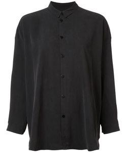 Toogood | Mandarin Collar Shirt Womens Size 1 Silk