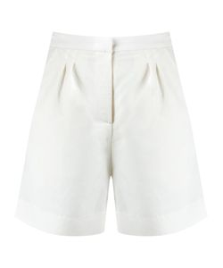 Andrea Marques | Pleated Shorts Womens Size 36 Linen/Flax/Polyester/Viscose