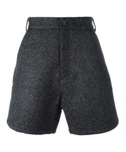 Odeur | Loose-Fit Short Shorts Adult Unisex Size Small Viscose/Virgin Wool/Polyester/Spandex/Elastane