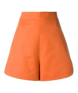 Andrea Marques | High Waisted Shorts Womens Size 40 Cotton/Spandex/Elastane