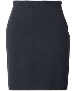 Loveless | Mid-Rise Straight Skirt Womens Size 36 Polyester