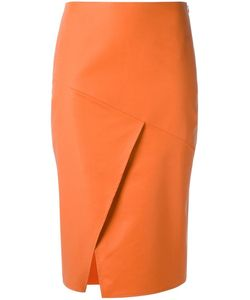 Andrea Marques | Panelled Skirt Womens Size 42 Cotton/Spandex/Elastane